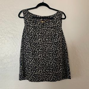 Dressy sleeveless top